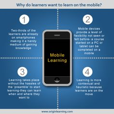 Top 4 Reasons Why Learners prefer Mobile Learning Infographic - http://elearninginfographics.com/top-4-reasons-why-learners-prefer-mobile-learning-infographic/
