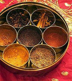 7 Ayurvedic Spices ✯ black pepper, cinnamon, cardamon, cilantro/coriander, cumin, ginger, and saffon.