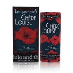 Crazylibellule and the Poppies - Les Garconnes - Chere Louise 0.17 oz Solid Perfume