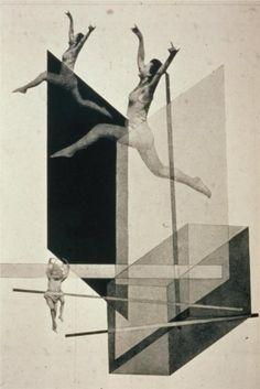 László Moholy-Nagy- Human Mechanics, 1925. #collage