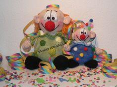 Die Clowni's -- Häkelanleitung