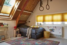#interior #window #decoration #windowdecoration #design #modern #kids #kidsroom #bedroom #yellow #oker #awesome #cool #rings #gymnast