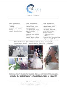 ¿Te casas? Si estás buscando fotógrafos de boda en Valencia que realicen fotos originales, creativas, divertidas y únicas. Te encuentras en el lugar indicado. info@f4ever.es