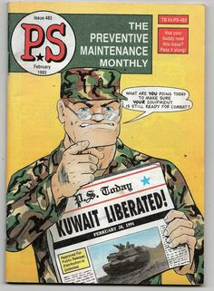 Vintage PS The Preventive Maintenance Monthly by ShopHereVintage