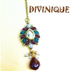 Red n green stylish kundan polki maang tikka - Online Shopping for Maang Tikkas by DIVINIQUE JEWELRY