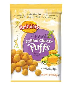 This Grilled Cheese Puffs - Set of 16 by Snikiddy is perfect! #zulilyfinds