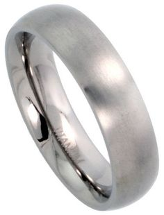 white gold brushed finishes wedding rings
