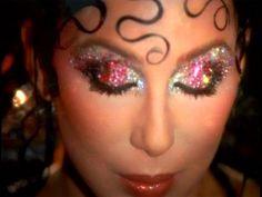 makeup Cher by Kevyn Aucoin Makeup Blog, Makeup Inspo, Makeup Art, Makeup Inspiration, Eye Makeup, Hair Makeup, 70s Disco Makeup, Disco 70s, Disco Night