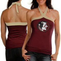 Florida State Seminoles (FSU) Ladies Garnet Open Field Halter