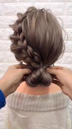 Hairstyles For Medium Length Hair Easy, Up Dos For Medium Hair, Short Hair Styles Easy, Medium Hair Styles, Curly Hair Styles, Hair Medium, Hairstyle Short, Medium Hair Updo Easy, Updos For Medium Length Hair Tutorial