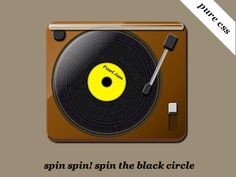 Spin the black circle  pure CSS  theeggs.biz/css3