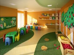 <<Visit the webpage to learn more on indoor playground equipment. Check the webpage to find out more>> Our web images are a must see! Preschool Decor, Preschool Classroom, Kids Decor, Classroom Decor, Daycare Setup, Daycare Design, Playroom Design, Kindergarten Interior, Kindergarten Design