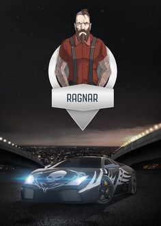 Ragnar -  Mobile Game Poster  by ThunderBullGames