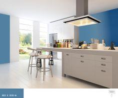 Najlepsze Obrazy Na Tablicy Kuchnie W Kolorze Niebieskim 9