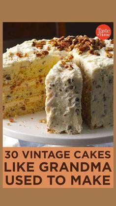 Cupcake Recipes, Baking Recipes, Cupcake Cakes, Dessert Recipes, Cupcakes, Best Cake Recipes, Layer Cake Recipes, Baking Ideas, Potluck Desserts