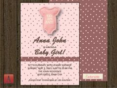 Front & Back Baby Shower Card Fully Editable Baby by LoveArtSyou Baby Shower Cards, Baby Shower Invitations, Shower Inspiration, Lets Celebrate, Scrapbook Paper, Rsvp, Digital, Awesome, Handmade Gifts