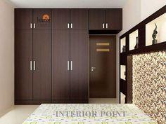 wardrobe design for bedroom - Salvabrani Wall Wardrobe Design, Wardrobe Door Designs, Bedroom Closet Design, Bedroom Furniture Design, Bedroom Wardrobe, Closet Designs, Home Decor Bedroom, Home Design, Home Interior Design