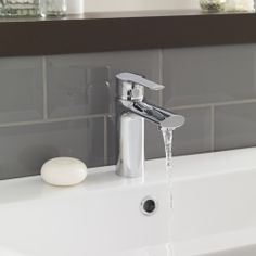 Provide the finishing touches to your modern bathroom with the Imogen basin mixer tap