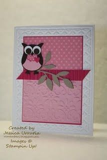 Cute Owl  Stampin' Up!
