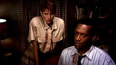 Still of Patricia Tallman and Tony Todd in Night of the Living Dead (1990)