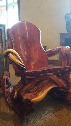 Juniper Rocking Chair. Made in Montana By Randy Hillner