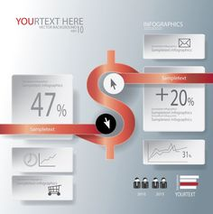 Abstract business infographic. Business Infographic