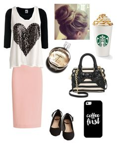 Untitled #90 by bizzybelle16 on Polyvore featuring polyvore, fashion, style, Fruit of the Loom, Roland Mouret, Betsey Johnson, Casetify and Chanel
