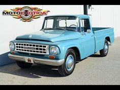 '65 International Harvester  truck                                                                                                                                                     More