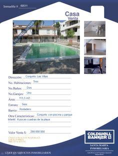 Casa en conjunto cerrado - Rodadero Sur- Santa Marta