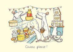 Anita Jeram: Mouse shopping - Cheese please!