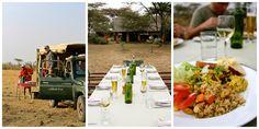 Safari food - Naboisho Camp, Kenya