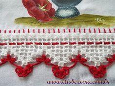 Nesse vídeo ensino passo a passo a fazer um barradinho de crochê. Veja outros em: parte 2: http://www.youtube.com/watch?v=W3-Tzi4eQSw&feature=youtu.be http:/...