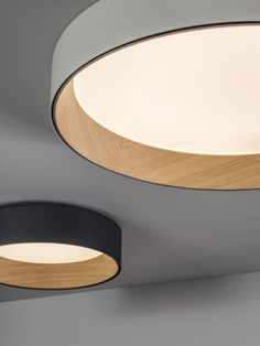 Lampen Duo ceiling lamp by Vibia
