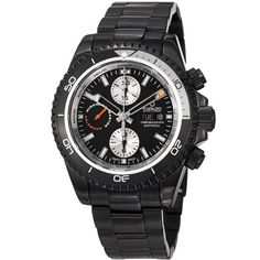 Kadloo Windward Mens Watch 87430BK Kadloo. $927.99. Valjoux 7750 Chronograph movement. Matt black dial with Superluminova on indices and hands. Swiss made. Glass-Case-Back for a view on the mechanical movement. Includes two bands - metal bracelet and rubber-strap