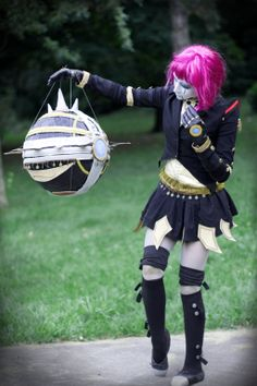 Bladecraft Orianna Cosplay League of Legends