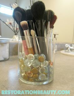 Restoration Beauty: Repurposing Candle Jars