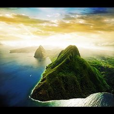 St. Lucia Luxurious Tropical Island in the Caribbean