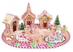 In-The-Hoop Gingerbread Playland Collection - In the Hoop - Design Collections - Embroidery Designs