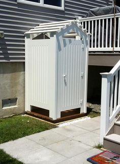 Outdoor Shower / Changing Room  www.ShowerOutdoor.com