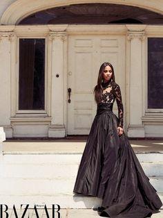 Zoe Saldana Covers 'Harper's Bazaar' Arabia Zoe Saldana Covers 'Harper's Bazaar' Arabia – Pink is the New Blog