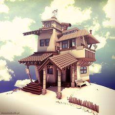 Home By The Sea by Cerebrate.deviantart.com