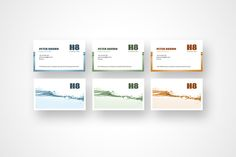 Business Cards | all the colors by ANANAS'Y on @creativemarket