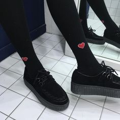 alternative, grunge, and shoes image Sock Shoes, Cute Shoes, Me Too Shoes, Emo Shoes, 90s Fashion, Korean Fashion, Womens Fashion, Puma Platform, Platform Sneakers