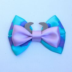 Sulley Monsters Inc. Inspired Bow by SmallWorldBows on Etsy, $9.00