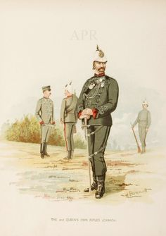 The Queen's own Rifles (Canada) - Military - Prints & Ephemera Antique Maps, Antique Prints, British Army, Armed Forces, Great Britain, Rifles, Canada, Queen, History
