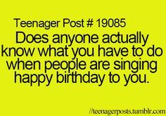 I look around smiling awkward at people, and then I stare at the fire melting the candle wax on my cake.