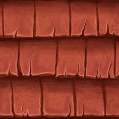 Tile Roof - Handpainted Textures