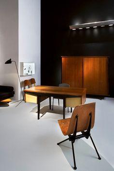 Galerie Francois Laffanour: Prouvé, Prouvé, Prouvé and Mouille.