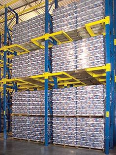 Twinlode: Drive In or Drive Through Double & Single Pallet Storage Warehouse Pallet Racking, Pallet Storage, Home Decor, Decoration Home, Room Decor, Home Interior Design, Home Decoration, Interior Design