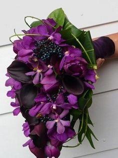 paars bruidsboeket - Google zoeken